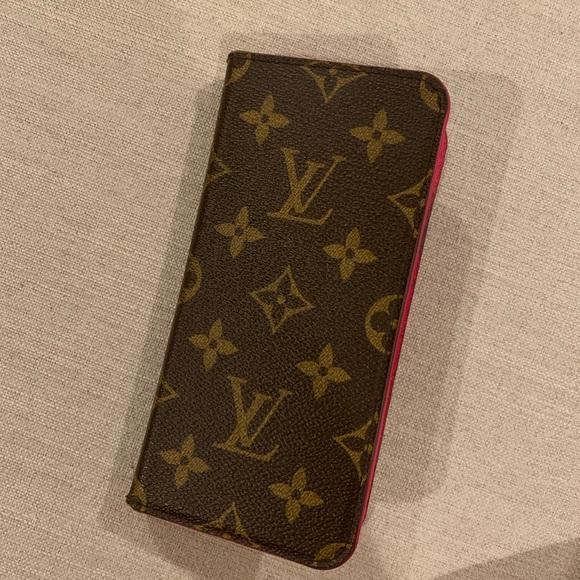 the latest 5fad8 f7e2a Authentic Louis Vuitton iPhone XS Max phone case